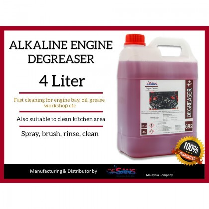 DESANS 682 Alkaline Engine Degreaser For Oil and ENgine Cleaner 4000ml