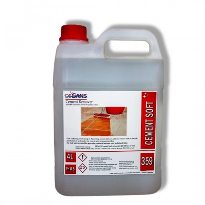 DESANS 359 Cement Stain Remover cleaning simen wash detergent 4000 mL