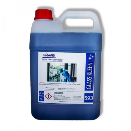 Desans 593 Glass cleaner window cleaning detergent stain remover 4000 mL