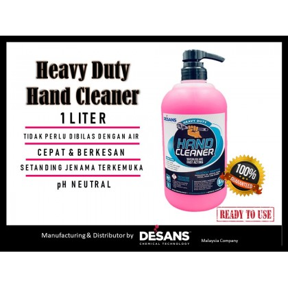 Desans 875 Heavy Duty Hand Cleaner Hand Soap 1 liter