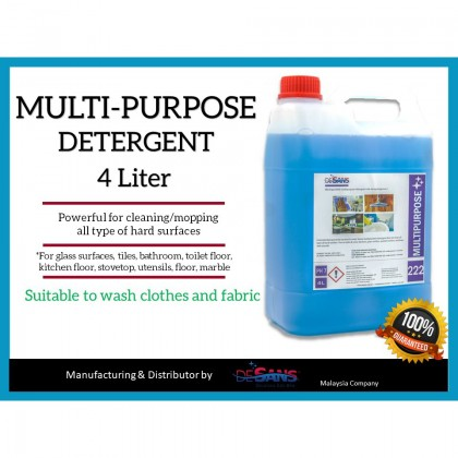 DESANS Concentrated Multipurpose Detergent Kitchen Bathroom Antibacterial
