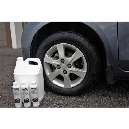 Desans 117 Tyre Polish Wax Economy 4 Liter (Big Bottle)