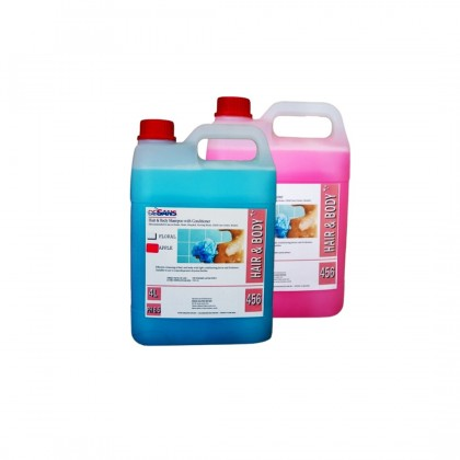 Desans 456 Body and Hair Wash 4 Liter (Pek Ekonomi)