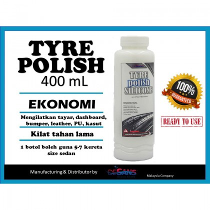 Desans 117 Tyre Polish Wax Economy 400 mL