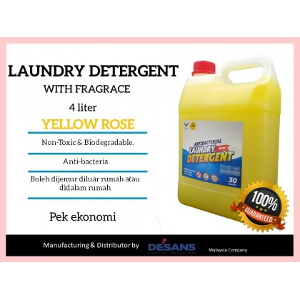 Slaz Detergent Laundry Antibac with fragrance
