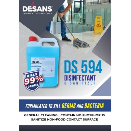 DESANS 594 DISINFECTANT & SANITIZER
