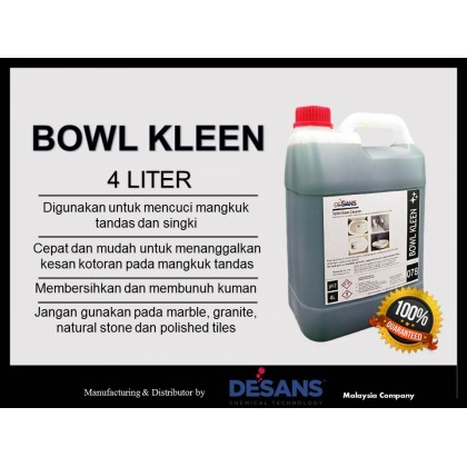 DS078 BOWL KLEEN - Toilet Bowl Cleaner