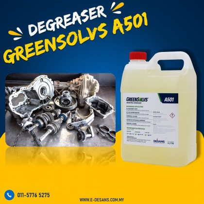 GreenSolvs A501 - Heavy Duty Degreaser 4 Liter