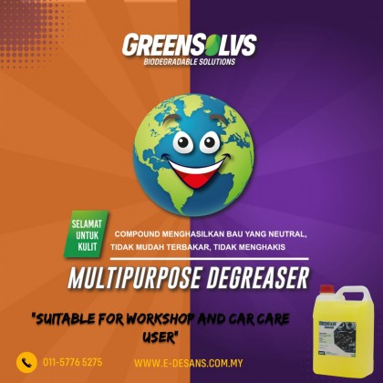 GreenSolvs A301W - Heavy Duty Degreaser 4 Liter