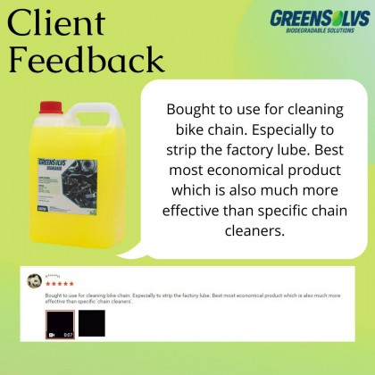 Biodegradable Degreaser GreenSolvs A301W -  4 Liter